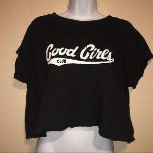 Forever 21 Tops - Good Girls Club Forever 21 Cropped Tee
